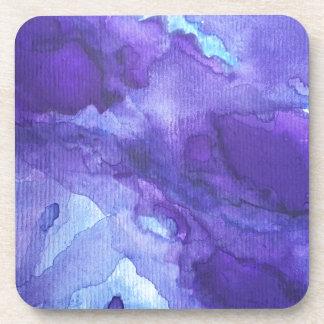 Soothing Watercolors Beverage Coasters