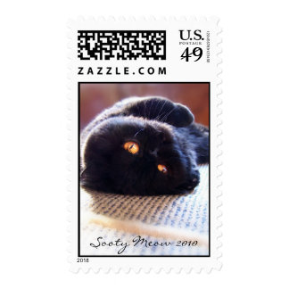 Sooty Meow - sleepy Postage Stamps