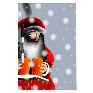 Sooty Santa Dry-Erase Board