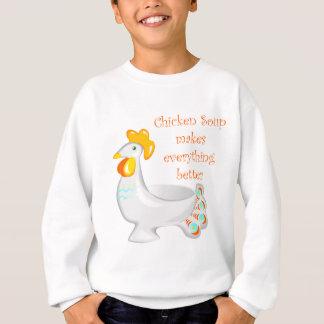 Sopa de pollo sudadera