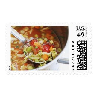Sopa de verduras en cacerola envio