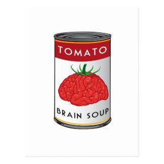 sopa del cerebro postal