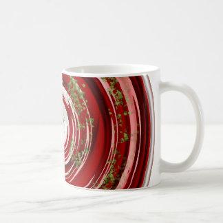 Sopa del tomate taza básica blanca
