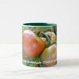 Sopa hecha en casa taza dos tonos
