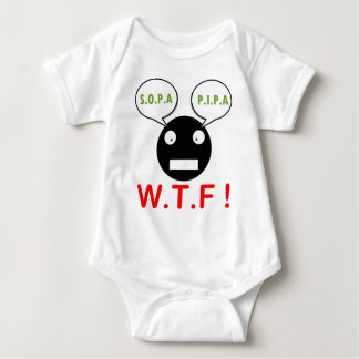 Sopa Pipa WTF Baby Bodysuit