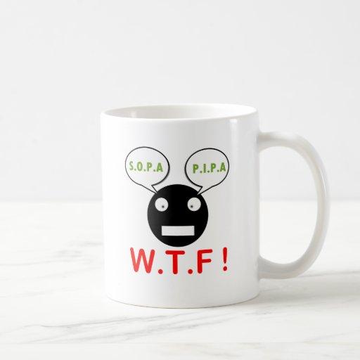 Sopa Pipa WTF Coffee Mugs