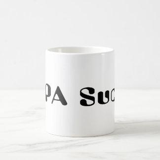 SOPA Sucks Classic White Coffee Mug