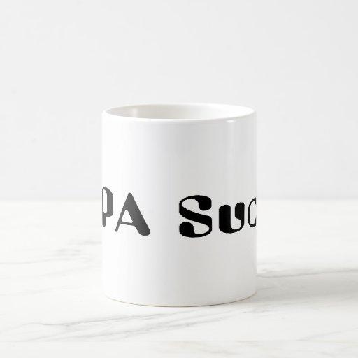 SOPA Sucks Coffee Mug