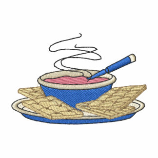 Sopa y galletas