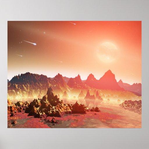 Sopas químicas de NASAs alrededor de las estrellas Impresiones