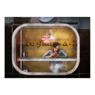Sopas sanas y calurosas de la ventana - Hoboken, Anuncio