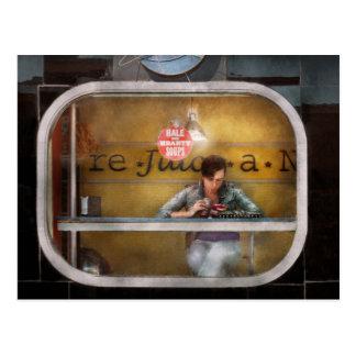 Sopas sanas y calurosas de la ventana - Hoboken, Tarjeta Postal
