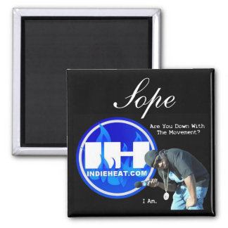 Sope Indieheat.com Movement Fridge Magnets