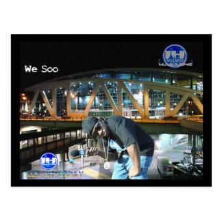 Sope nosotros postal de Soo Atlanta