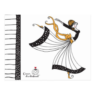 Sophia Butterfly Dancer Post Card