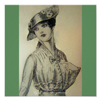 """Sophia""  by Susan Bergstrom Print"