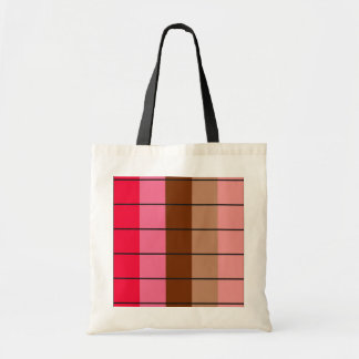 Sophia CHERRY RED ICECREAM PINK BROWN CHOCOLATE CR Canvas Bags