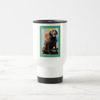 Sophia - chocolate Labrador -1 Taza