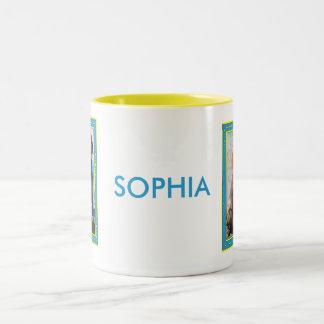 Sophia - chocolate Labrador -1 Tazas De Café