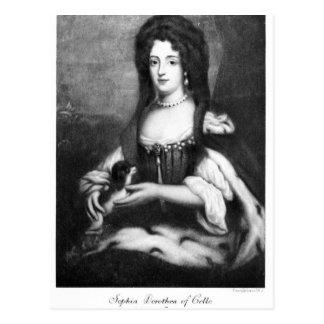 Sophia Dorothea of Celle Postcard