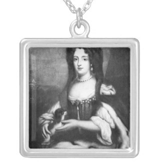 Sophia Dorothea of Celle Silver Plated Necklace