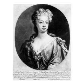 Sophia Dorothea, Queen of Prussia Postcard