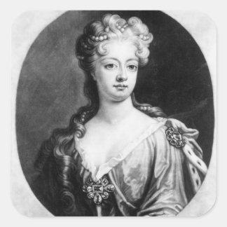 Sophia Dorothea, Queen of Prussia Square Sticker