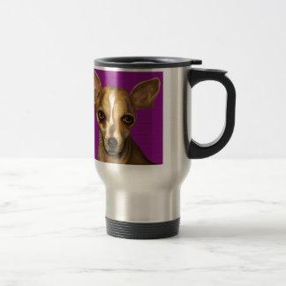 Sophia en púrpura taza de viaje de acero inoxidable