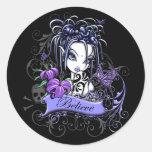 """""""Sophia Lilly"""" Believe Fairy Art Stickers"""