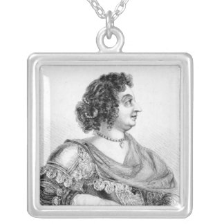 Sophia, Princess Palatine of the Rhine Silver Plated Necklace