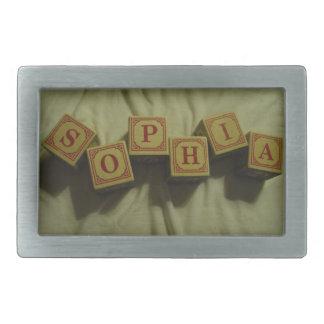 Sophia Rectangular Belt Buckle