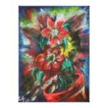 Sophia's Flowers Stretched Canvas Print