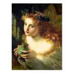 Sophie Anderson Fairy Postcard