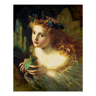 Sophie Anderson Fairy Poster