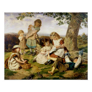 "Sophie Anderson's ""The Children's Story Book"" Poster"