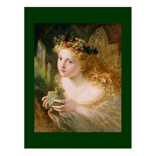 Sophie AndersonTake the Fair Face of Woman Postcard