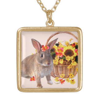 """Sophie"" Bunny Necklace"