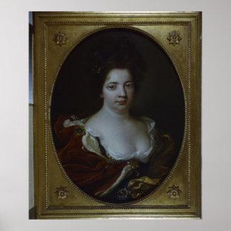 Sophie Charlotte von Preussen c 1690 Poster