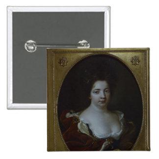Sophie Charlotte von Preussen, c.1690 Pin Cuadrado