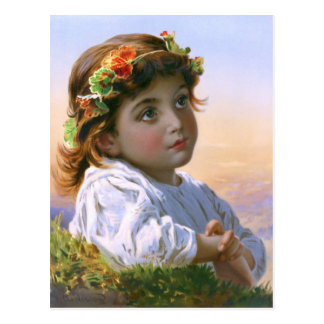 Sophie Gengembre Anderson: Dreaming Daisy Postcard