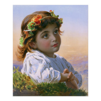 Sophie Gengembre Anderson: Dreaming Daisy Poster