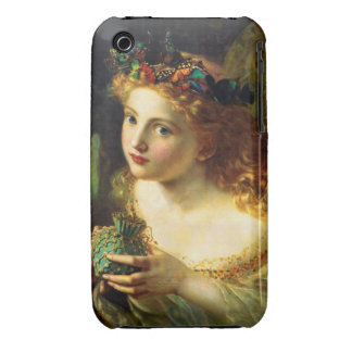 Sophie Gengembre Anderson: Take the Fair Face ... Case-Mate iPhone 3 Case