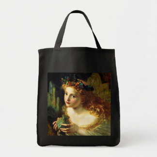 Sophie Gengembre Anderson: Take the Fair Face ... Grocery Tote Bag