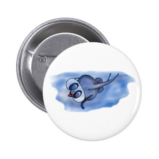 Sophie goes snorkelling pinback button