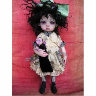 Sophie & her Vampire Doll Standing Photo Sculpture