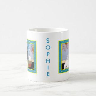 Sophie - mezcla -4 de Pom Terrier Taza De Café
