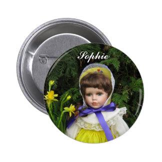Sophie Pin Redondo De 2 Pulgadas