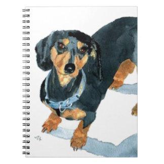 Sophie the Dachshund Spiral Notebook