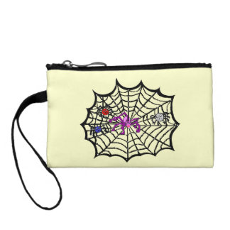 Sophie the Spider caught in her web Coin Purse