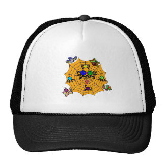 Sophie the Spider in a love smooch. Trucker Hats
